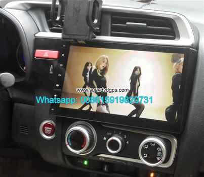 Honda Jazz Fit refit audio radio Car android wifi GPS navigation camera
